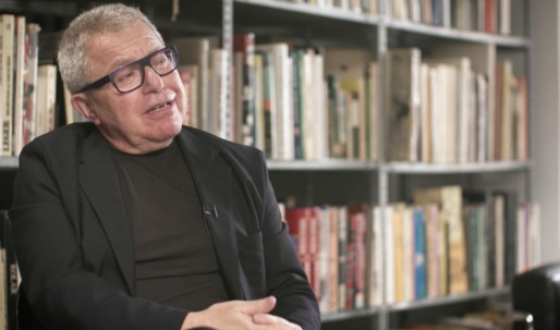Watch Daniel Libeskind speak of his love for NYC's diversity