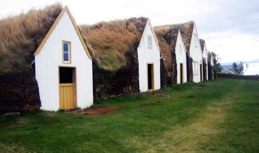 A lush, photographic tour of the Icelandic Turf House