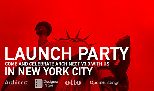 Celebrate the launch of Archinect v3.0 with us in NYC on April 29th