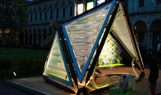 "The Urban Algae Canopy shows the power of ""algaetecture"" for Milan Expo 2015"
