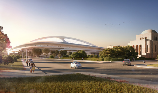 Zaha Hadid ineligible to participate in Tokyo Stadium design-build competition