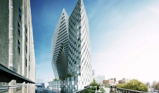 REVEALED: Bjarke Ingels' Brand New High Line Towers