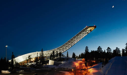 Holmenkollen ski jump turns into Airbnb penthouse for one night