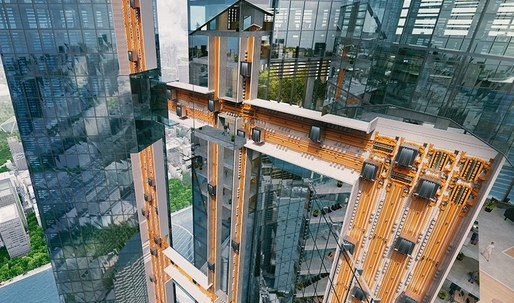 The sideways elevator that will revolutionize building has arrived