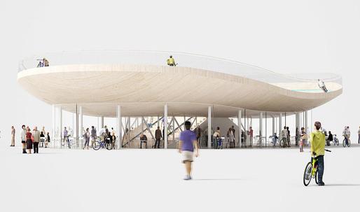 Bike Pavilion by NL Architects