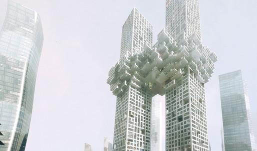 MVRDV designs The Cloud for Seoul's Yongsan Dreamhub