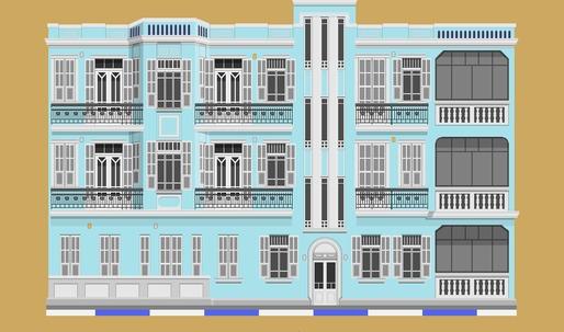 A cartoon encyclopedia of Tel Aviv's buildings