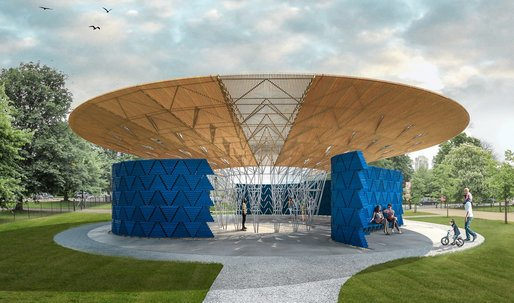 Diébédo Francis Kéré announced as Serpentine Pavilion 2017 designer