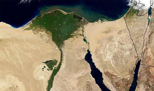 Egypt's urban growth threatens Nile farmland