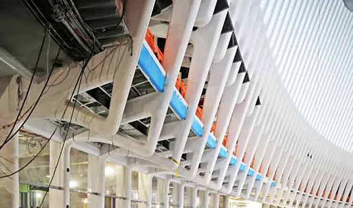 Leaking water delays opening of World Trade Center Transit Hub's luxury shopping mall