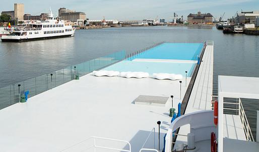 The Badboot Lido Opens in Antwerp