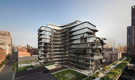 Zaha Hadid-designed 520 West 28th Street named SARA NY 2017 Project of the Year