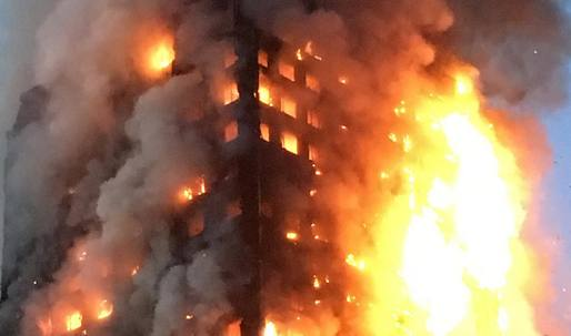 "London tower block fire kills twelve; previous warnings about ""very poor fire safety standards"" may have gotten ignored"