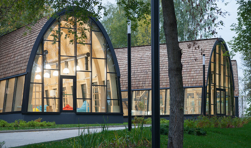 "At the VDNKh park in Moscow, Workhaus design an educational ""Urban Farm"""