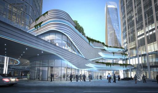 Construction update: Zhongxun Times by 10 Design in Chongqing