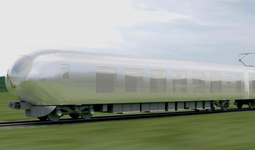 "Kazuyo Sejima envisions ""camouflaged"" design for Seibu's new bullet train"