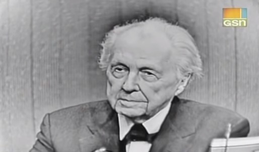 What's My Line? Frank Lloyd Wright, game show guest