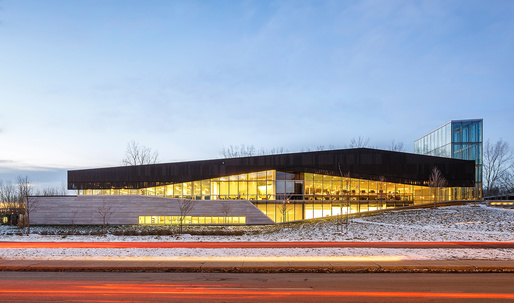 RAIC distinguishes Montreal's Bibliothèque du Boisé with 2017 Green Building Award