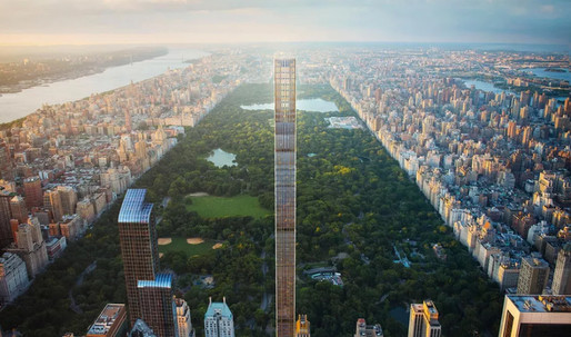 NYC's super skinny skyscraper is fat with cost overruns, prompting a lawsuit
