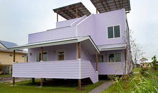 First Frank Gehry Home Completed by Brad Pitt's Make It Right Foundation