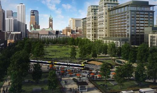 Minneapolis picks architecture finalists for stadium-area park