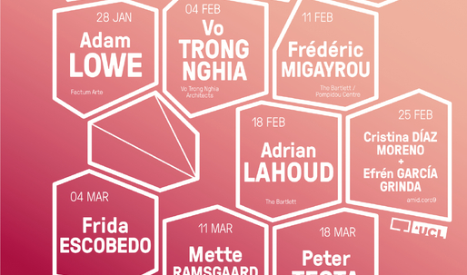 Get Lectured: The Bartlett, Spring '15