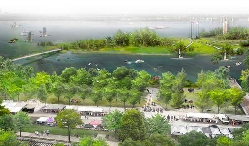 Studio Gang releases design for Memphis Riverfront Concept