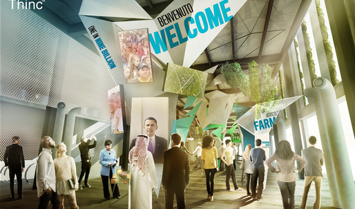 Thinc Design's USA Pavilion exhibition presents America's role in the future of food for Milan Expo 2015
