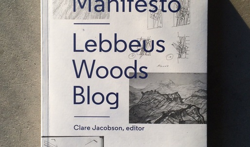 "Win ""Slow Manifesto: Lebbeus Woods Blog""!"