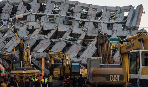 Developer and architects of collapsed Taiwan apartment building arrested