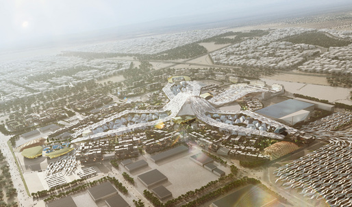 Dubai chosen for World Expo 2020 with HOK-led master plan