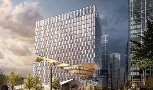 OMA embarks on first Boston commission with 88 Seaport mixed-use building