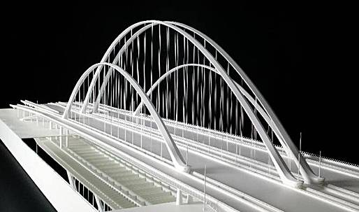 Calatrava's bridge in Dallas shot down, back as zombie
