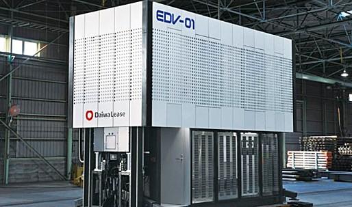 Diawa Lease Unveils Solar-Powered Transforming EDV-01 Prefab