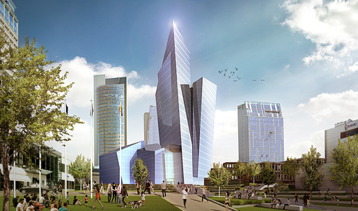 Daniel Libeskind to design shiny mixed-use building in Vilnius