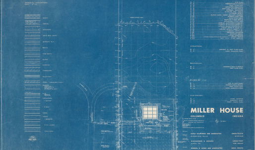 Documenting Modern Living: A Tumblr on the creation of Saarinen's Miller House
