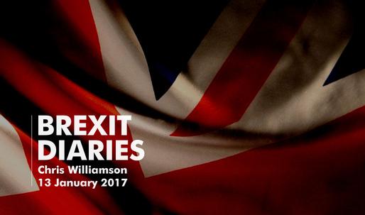 Brexit Diaries: Chris Williamson, 13 January 2017