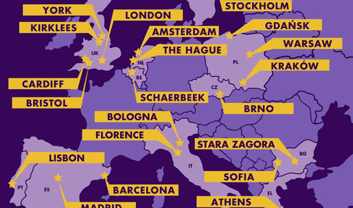 Twenty-one finalists for the Bloomberg Philanthropies' Mayors Challenge Competition in Europe