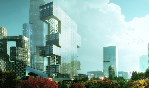 REX unveils residential tower in Seoul's Yongsan International Business District