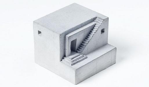 """Celebrating concrete architecture in a mini """"block party"""""""