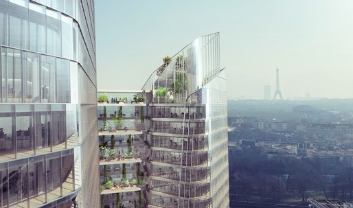 "Meet ""The Link"", a new office tower for Paris' business district"