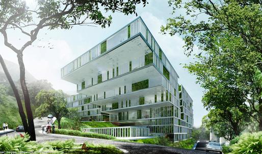 schmidt hammer lassen architects to design new Island School in Hong Kong