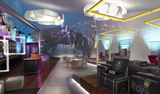 Archinect talks wtih Ivan Blanco, winner of the LA Film Festival Director's Lounge Design Competition