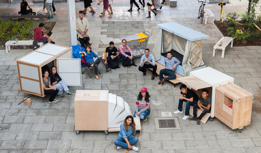 At USC's 'Homeless Studio', Students Work Towards Real Solutions to the City's Homeless Crisis