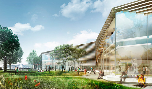 schmidt hammer lassen to Design New Cultural Center and Library in Karlshamn, Sweden