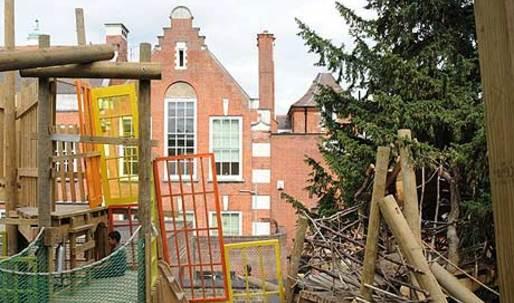 The junk playground model
