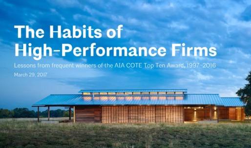 Leaders in architecture tend to be LEED-accredited, AIA study reveals