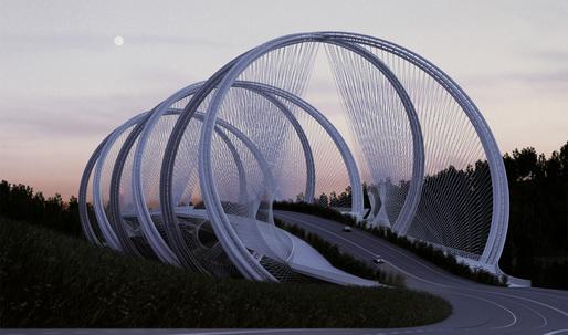 A look at penda's elegant San Shan Bridge