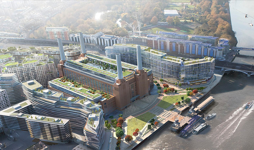 BIG appointed to design public square for revamped Battersea Power Station