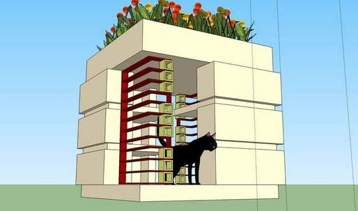 Florida Southern's College's Stray Cats Getting Own Frank Lloyd Wright Styled Dorms